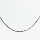 Sterling Silver Elegant Box Chain