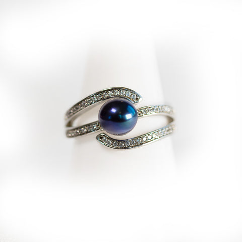 Sterling Silver Galaxy Ring