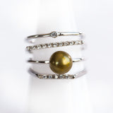 Sterling Silver Magnitude Ring