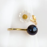 Gold Plated Sterling Silver Spring Blossom Ring