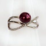 Sterling Silver Entwined Ring