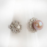 Blow Out- Flower Ring and Pearl