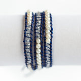 Three Wrap Bracelet
