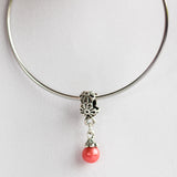 Silver Plated Spring Flower Bead