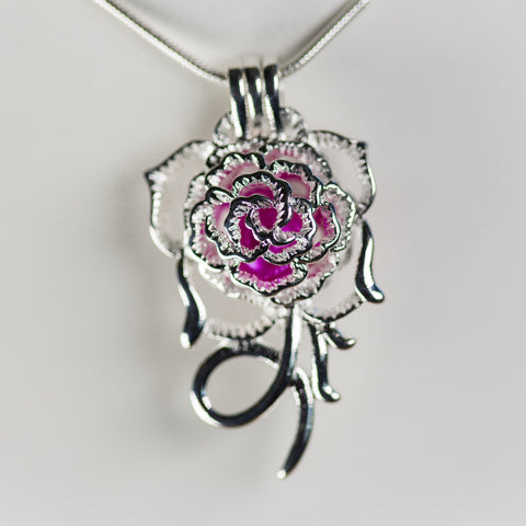 Silver Plated Belle Cage Pendant