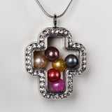 Premium Silver Cross Locket
