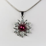 Design your own Poinsetta Pendant