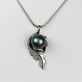 Sterling Silver Dragon's Eye Pendant