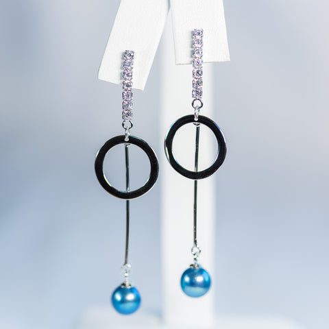 Sterling Silver Below Zero Earrings
