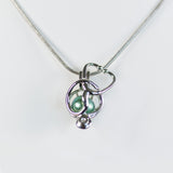 Sterling Silver Stethoscope Cage Pendant