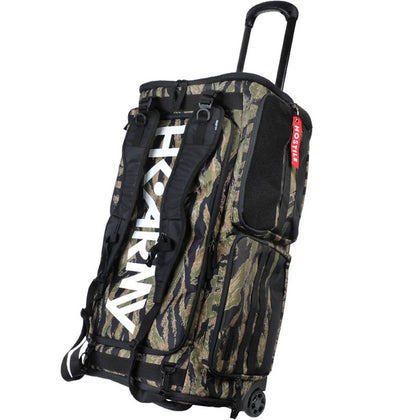 HK Army Expand 75L Roller Gear Bag - Tiger Camo