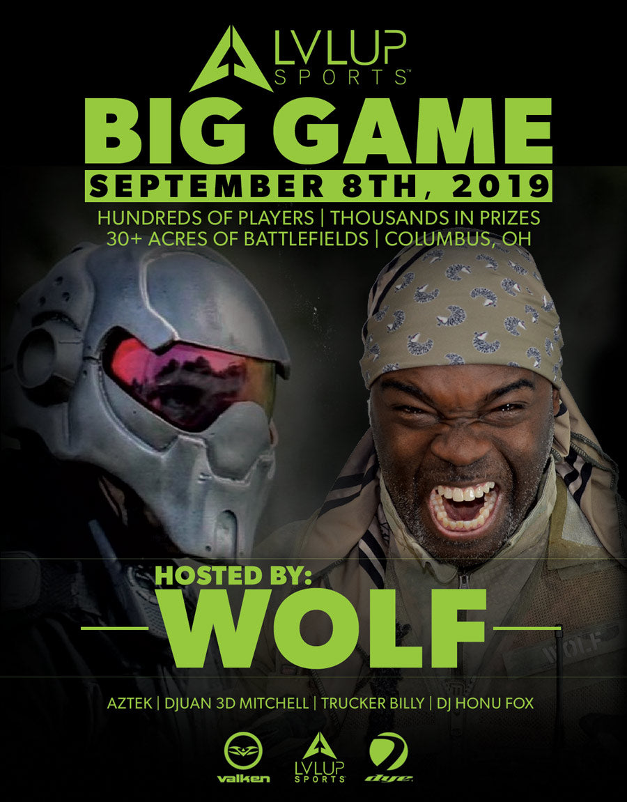 MEMBERS ONLY Tickets: LVL UP Big Game September 8th, 2019