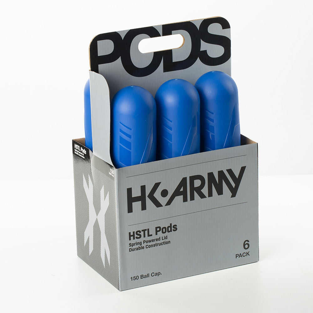 HK Army HSTL Pods - 150 Round - Blue - 6 Pack