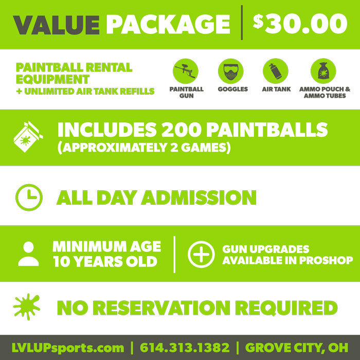 LVL UP Sports - Value Package