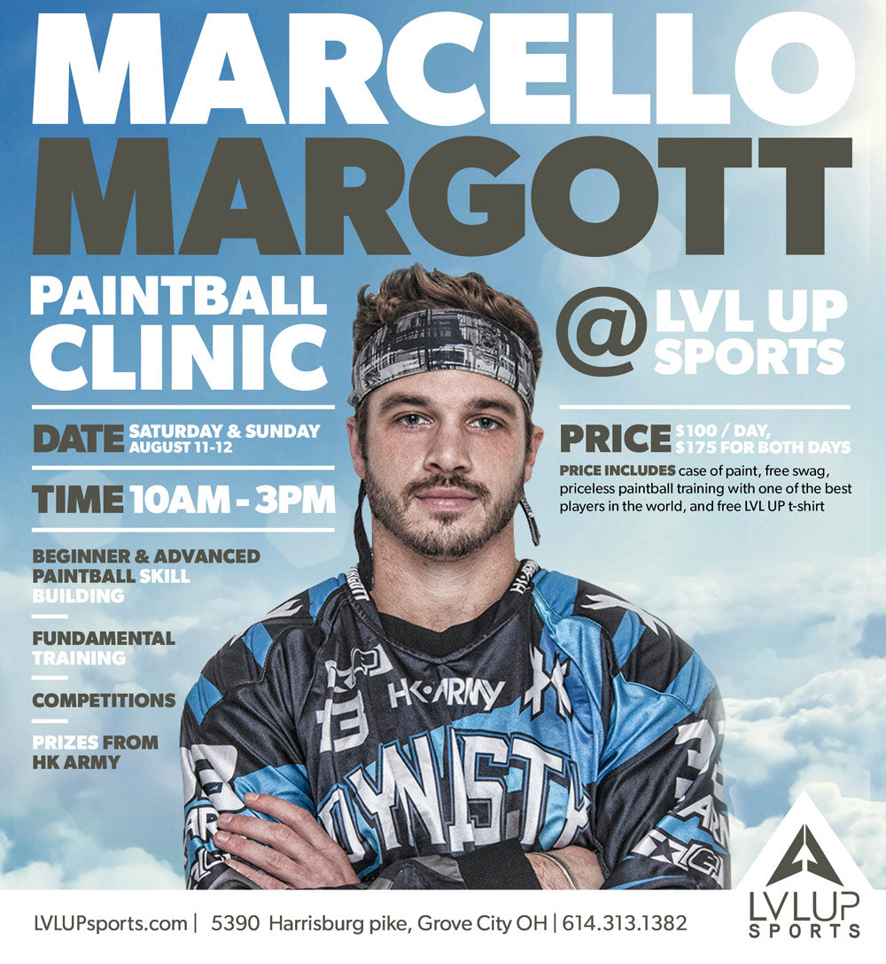 PRO Clinic: Marcello Margott at LVL UP Ticket