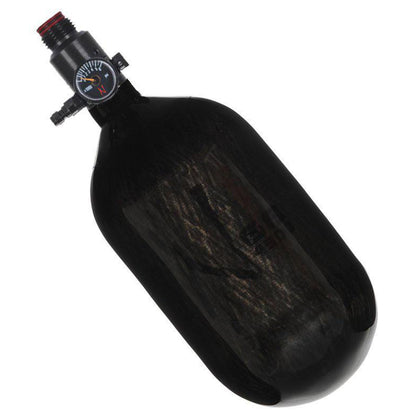 Ninja LITE Carbon Fiber 68 / 4500 Air Tank - Translucent Black