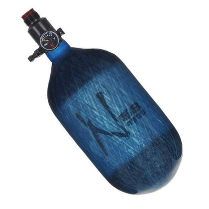 Ninja LITE Carbon Fiber 68 / 4500 Air Tank - Translucent Blue