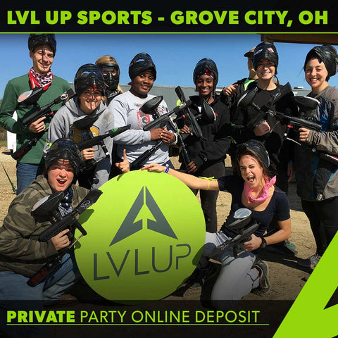Paintball Private Party Deposit