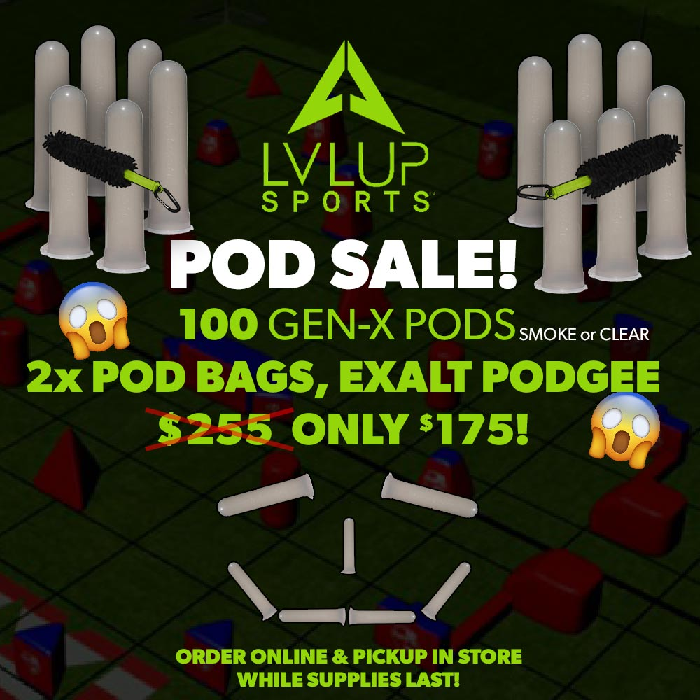 100 Pod, 2 Bag & Podgee Sale