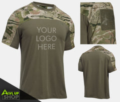 Custom Under Armour Tactical Paintball Jersey (with Patch Sleeve)