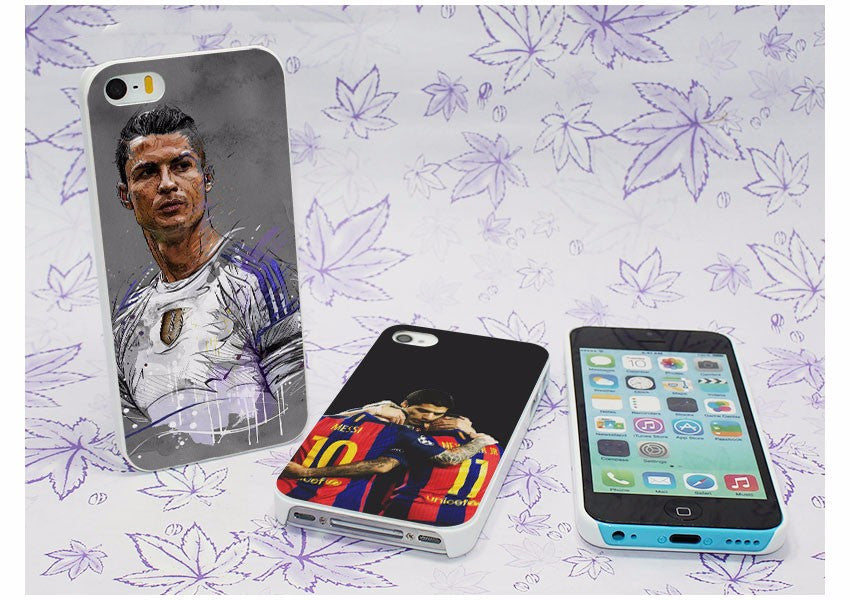 ronaldo barca madrid phone case