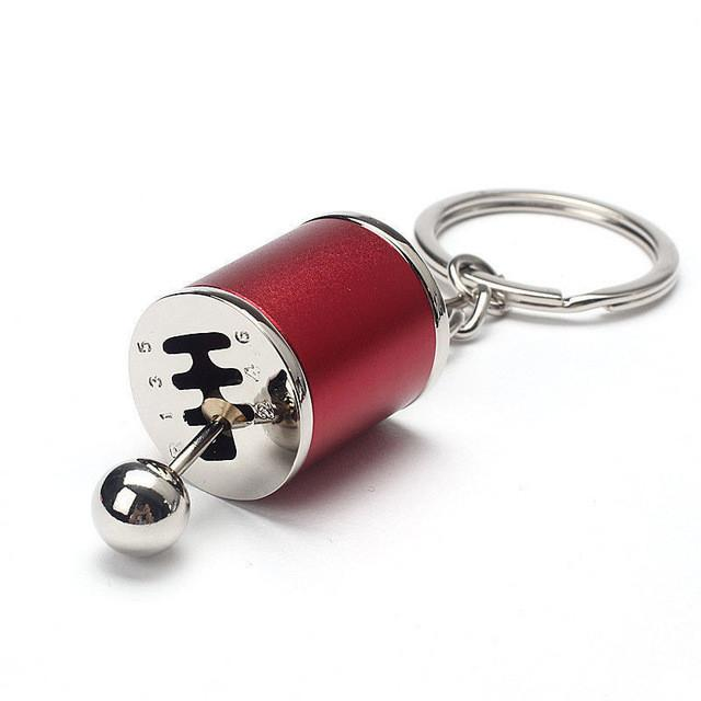 MANUAL GEARBOX SHIFTER KEYCHAIN