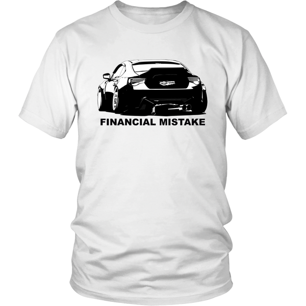 """Financial Mistake"" GT86/BRZ T-Shirt"