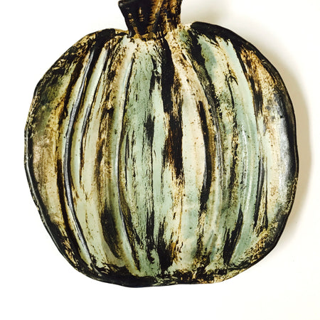 Etta B Pumpkin Serving Dish
