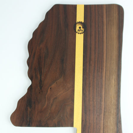 Mississippi Handmade Wooden Charcuterie and Cheese Board