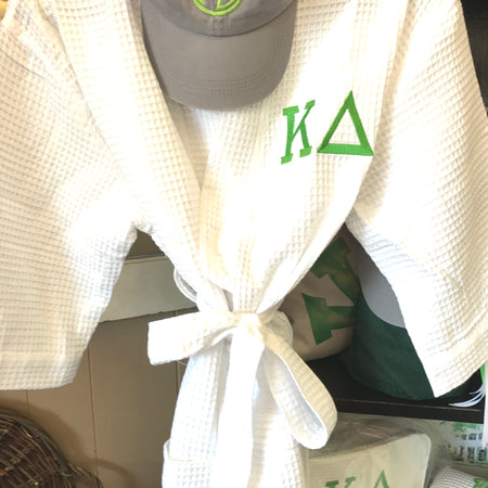 Sorority White Robe  One Size Fits All