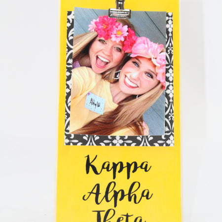 Sorority Picture Frame