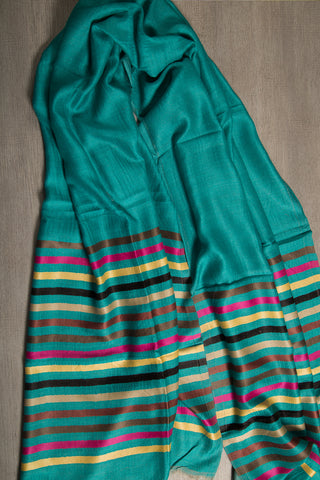 Elegant Pure Cashmere Handwoven Scarf