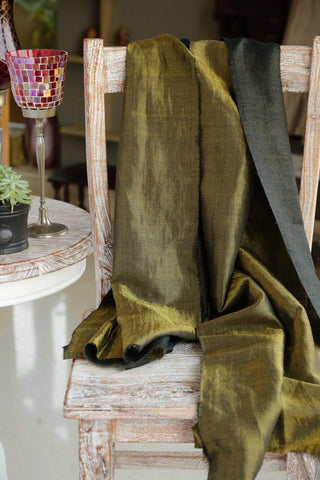Pashmina Stole with Zari - Black color