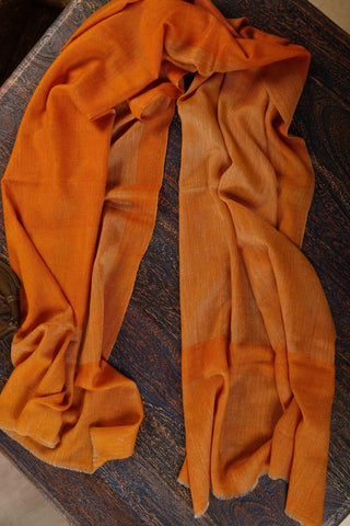 Pashmina Stole - Yellow/Orange color
