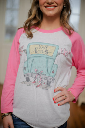 Love Bug Raglan - Doodles by Rebekah