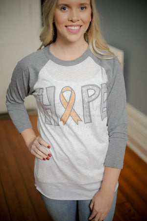 HOPE Orange (Kidney) Cancer - Doodles by Rebekah