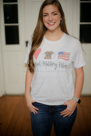 Proud Military Mom - Tees
