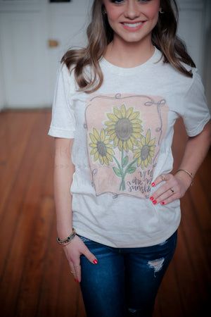 Sunflowers Tee - Doodles by Rebekah