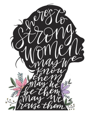 Women Empowerment Print - Doodles by Rebekah