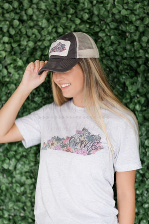 Kentucky Home Floral Trucker Hat - Doodles by Rebekah