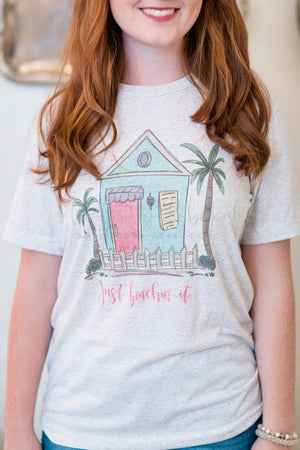 Just Beachin' It Tee - Doodles by Rebekah