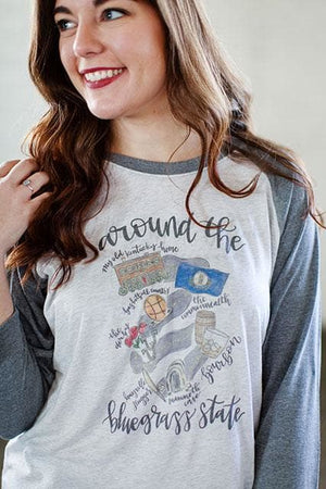 Around the Bluegrass State Raglan - Doodles by Rebekah