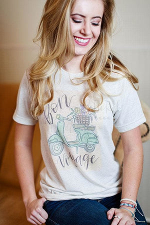 Bon Voyage Tee - Doodles by Rebekah