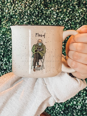 Bernie Mood Coffee Mug - Coffee Mug