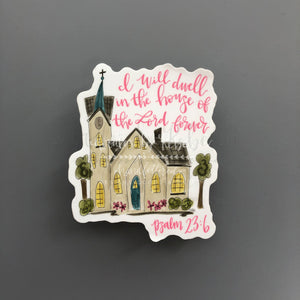 Dwell in the House Sticker - Doodles by Rebekah