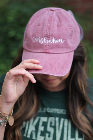 Unshaken Embroidered Cap