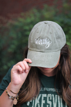 Worthy Embroidered Cap