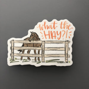 What the Hay?! Sticker - Doodles by Rebekah