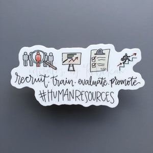 #HumanResources Sticker - Sticker