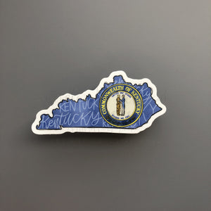KY Commonwealth Sticker - Doodles by Rebekah